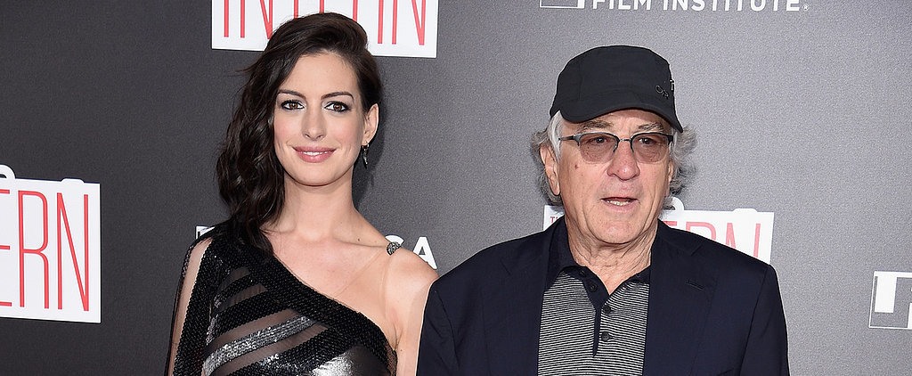 Anne Hathaway and Robert De Niro Hold Hands at Their Big Movie Premiere