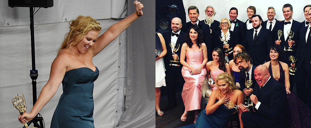 Amy Schumer's Emmys Night Looked Like Such a Blast
