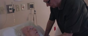 This Emotional Moment Between an Elderly Man and His Sick Wife Will Give You Chills