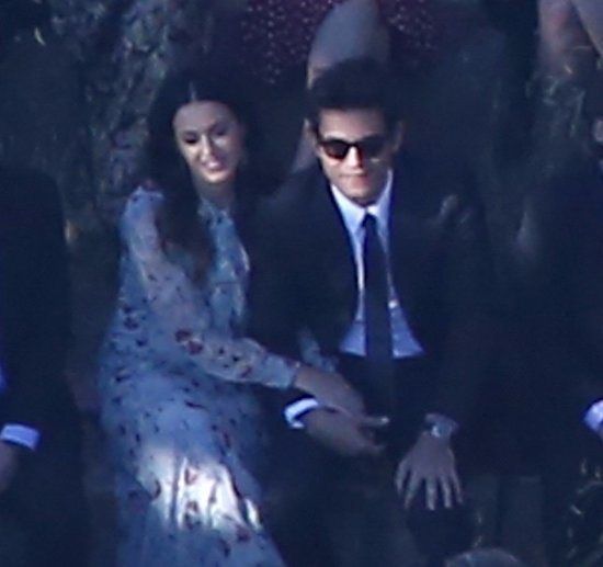 Katy Perry and John Mayer Attend Allison Williams's Wedding