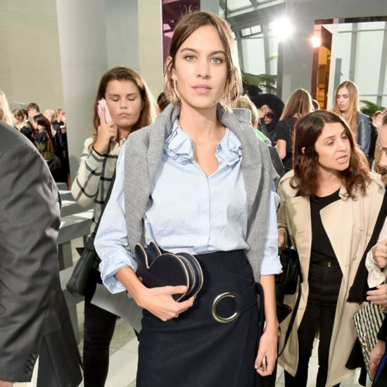 Celebrities London Fashion Week Spring 2016 Front Row