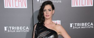 You Won't Believe What Anne Hathaway Just Wore on the Red Carpet