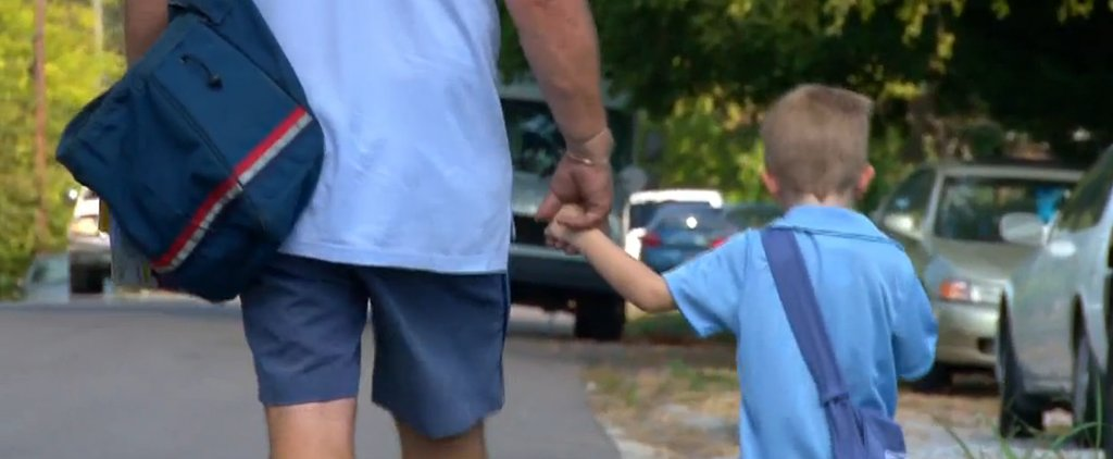 Adorable 4-Year-Old Idolizes His Mailman and Helps Him With Route Every Day
