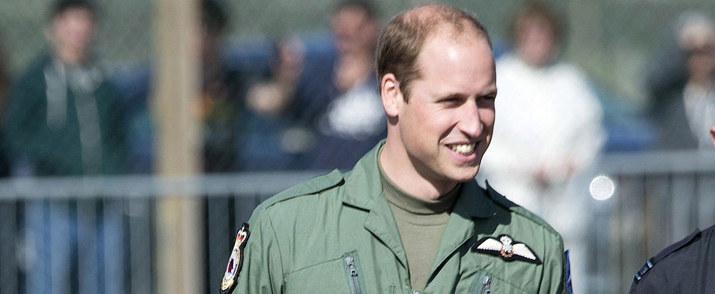 Prince William Channels Top Gun While Honouring British War Veterans