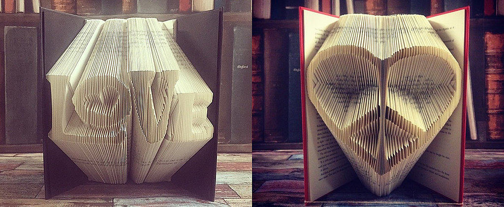 If You're a Book-Lover, Prepare to Lose Your Sh*t Over This Gorgeous Origami