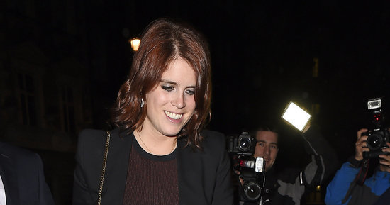Princess Eugenie Is Red Hot On A Night Out With Cara Delevingne