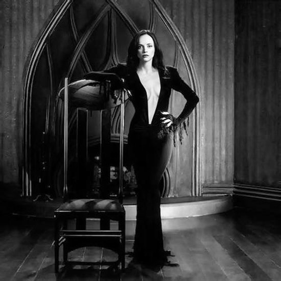 Christina Ricci as Morticia Addams Picture