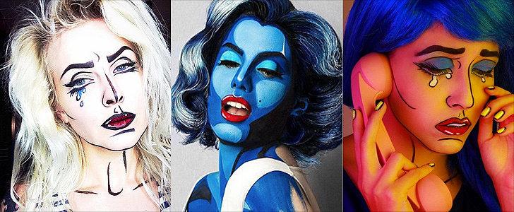Pop-Art Makeup Ideas So Good, They Actually Look Like Cartoons