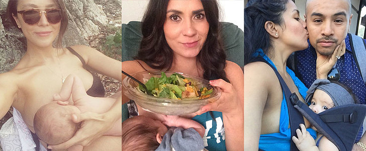 15 Steps to Taking an Epic Breastfeeding Selfie