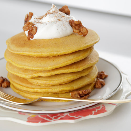 Pumpkin Spice Pancakes With Pumpkin Butter Recipe — Dishmaps