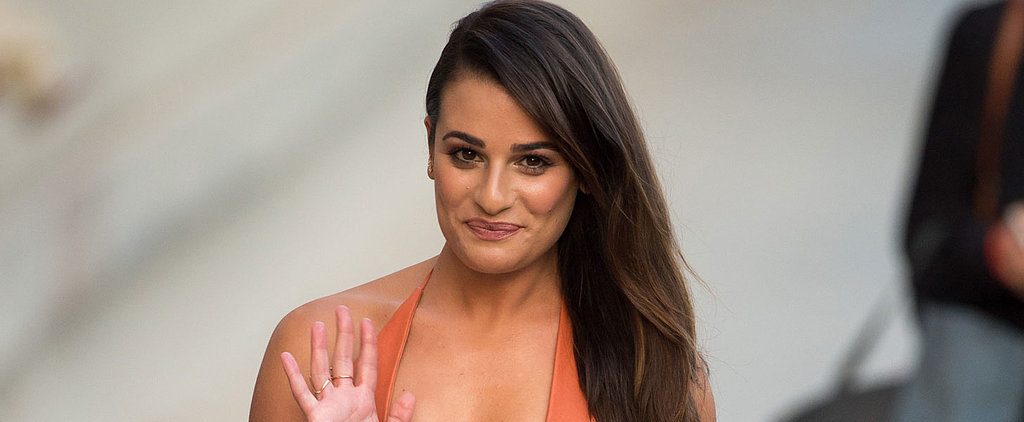 Lea Michele Looks Insanely Gorgeous During Her Latest Outing