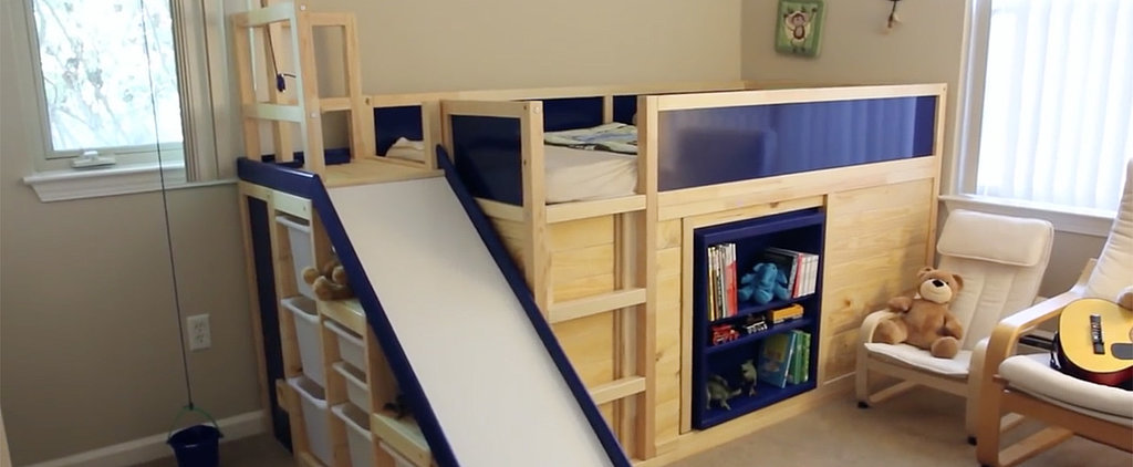 You're About to Be Blown Away by This Dad's Ikea Hack