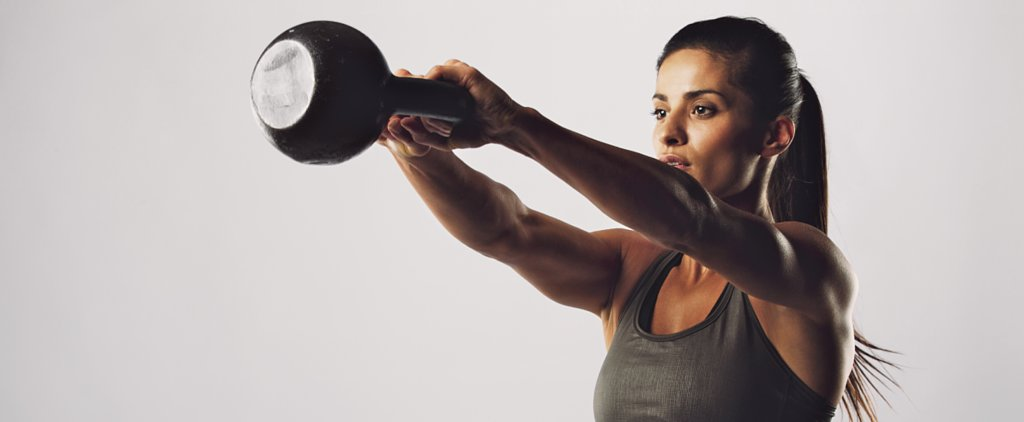 4 Fresh Body-Toning Moves You Can Do With a Kettlebell