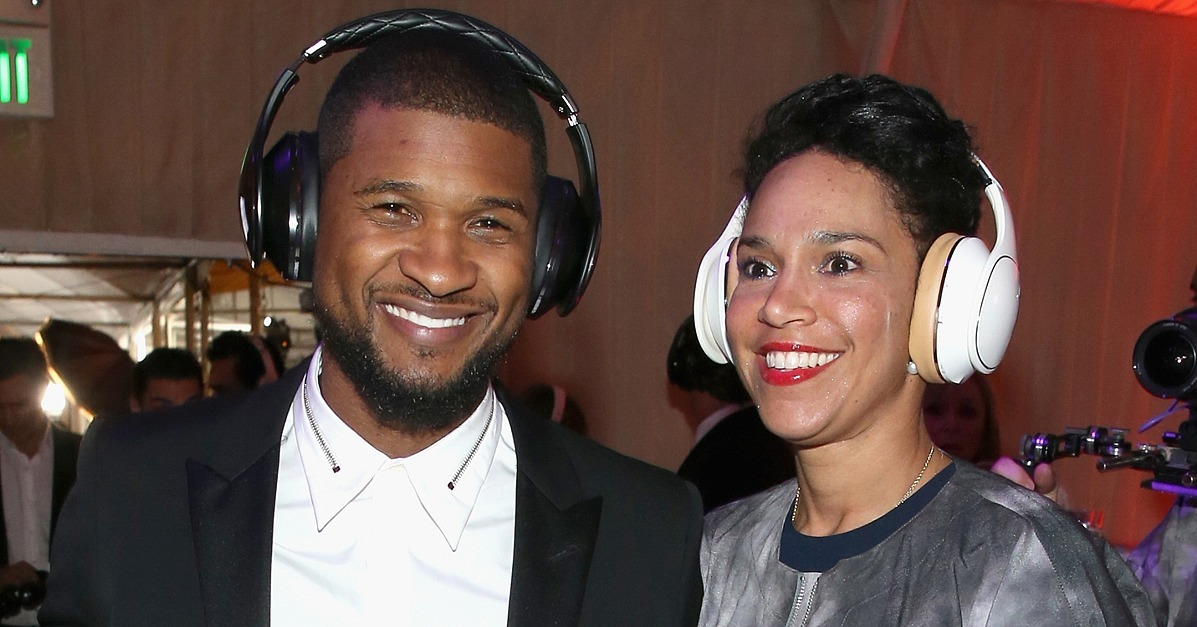 Usher Marries Grace Miguel Ryan Glover And Tameka Foster