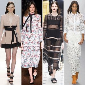 London Fashion Week Spring 2016 Trend Report