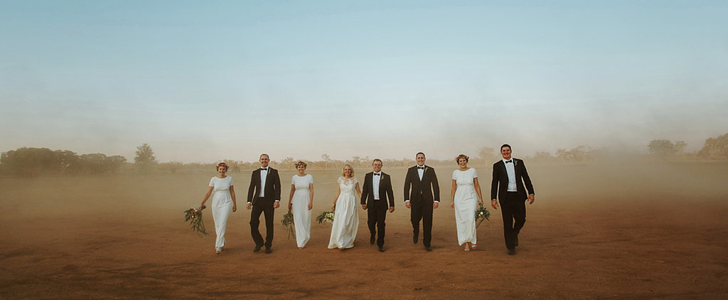 This Outback Wedding Brought Attention to a Very Good Cause