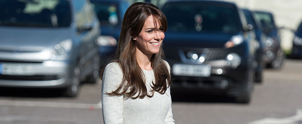 Kate Middleton Looks Simply Lovely While Visiting a Women's Rehab Centre