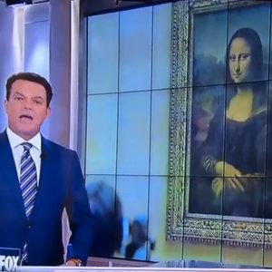 "Shepard Smith Says Leonardo DiCaprio Painted ""Mona Lisa"""