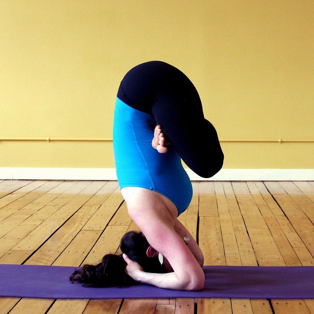 Bound Headstand Variations | POPSUGAR Fitness