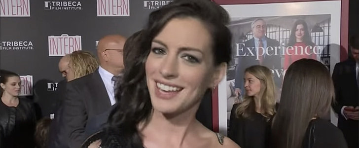 Watch Anne Hathaway Totally Lose Her Cool Around Mariah Carey