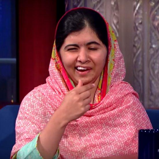 Malala Yousafzai Interview on Late Night Stephen Colbert