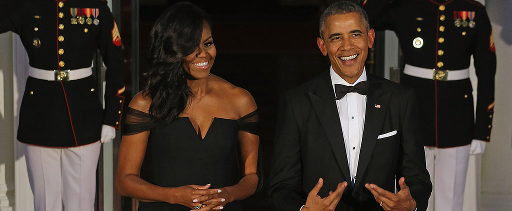 This Might Be the Most Simply Elegant Dress Michelle Obama Has Ever Worn