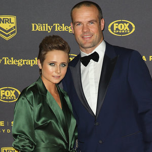 Australian NRL WAGs and Couples on 2015 Dally Ms Red Carpet
