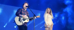 "Beyoncé and Ed Sheeran Reinvent ""Drunk in Love"" With a Killer Duet"