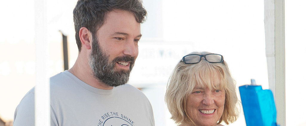 Ben Affleck Looks Happy During a Day Date With His Mom