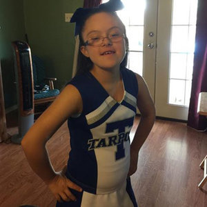 Cheerleader With Down Syndrome Is Inspirational