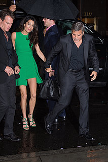 Amal and George Clooney at NYC Film Festival 2015