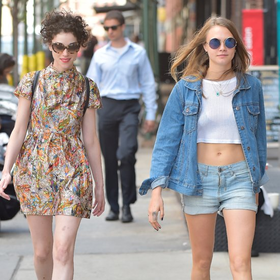 Cara Delevingne and St. Vincent Walking in NYC Pictures