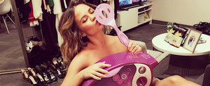 Find Out What Chrissy Teigen Made in an Easy-Bake Oven