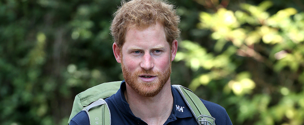 Prince Harry's Backpack Is Cute, but His Humanitarian Side Is Cuter