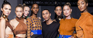 The Balmain Army Just Shut. It. Down. at Paris Fashion Week
