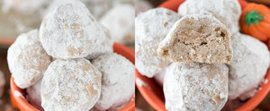 These Pumpkin Spice Snowballs Will Be Your New Favorite Holiday Cookie