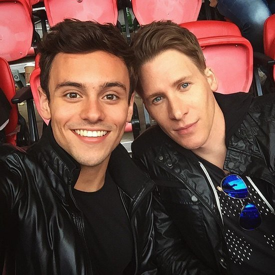 Tom Daley and Dustin Lance Black's Cutest Pictures