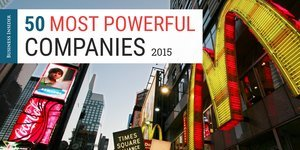 The 50 most powerful companies in America