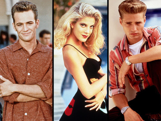 Tori Spelling Reveals 90210 Romances: Actress Slept with Jason Priestly, Kissed Luke Perry