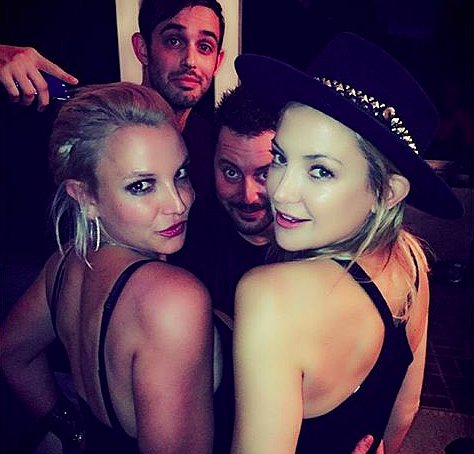 Britney Spears and Kate Hudson Hang Out 2015