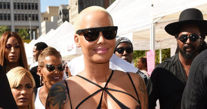 Amber Rose's Mom Definitely Dissed Kanye West At The SlutWalk In Los Angeles