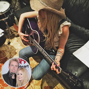 Avril Lavigne Hits the Recording Studio with Chad Kroeger Despite Separation