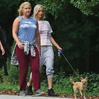 Jennifer Lawrence With Amy Schumer and Aziz Ansari Pictures