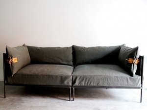 High/Low: Altamura Canvas Sectional