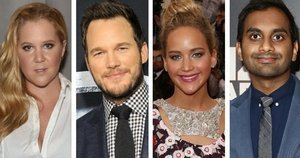 JLaw, Amy Schumer, Aziz Ansari And Chris Pratt Are Our New Favorite Squad