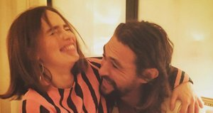 Emilia Clarke and Jason Momoa's 'Game of Thrones' Reunion Is Too Cute