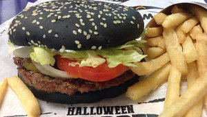 Burger King's Halloween Whopper Has 'Colorful' Side Effects