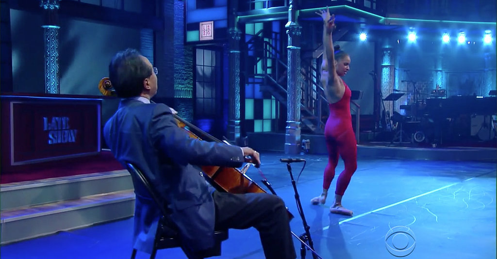 Misty Copeland and Yo-Yo Ma's Magical Number on The Late Show Is a Must See