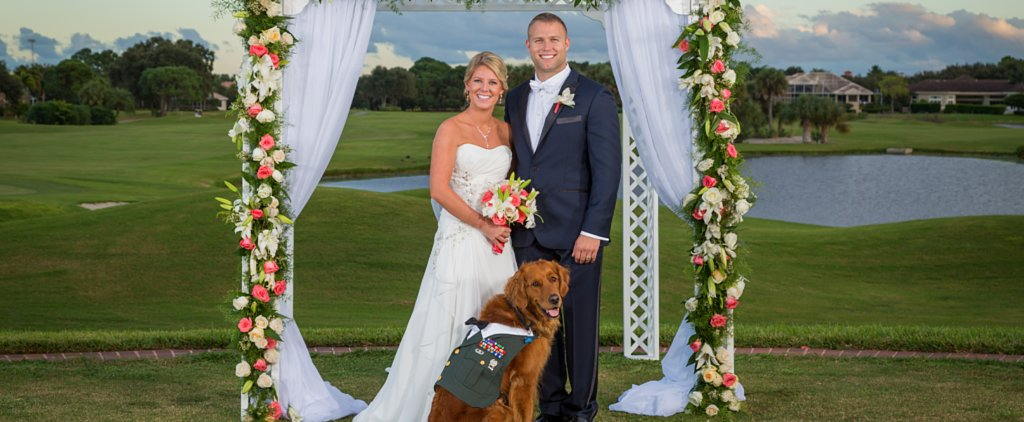 Man's Best Man Steals the Show at This Wedding