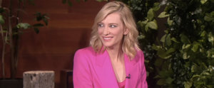 Cate Blanchett's Game With Ellen DeGeneres Was THISCLOSE to Being Really Dirty